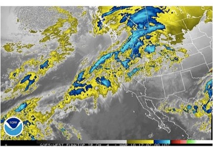 March 3rd – 15th: A Windy Storm leads into High Pressure and a Stabilizing Snowpack
