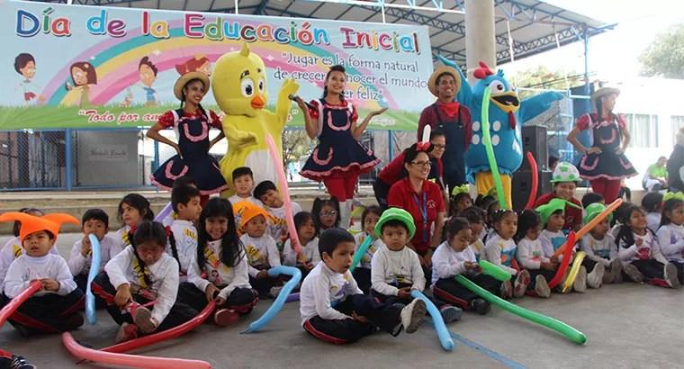 ¡Celebramos el día de la educación inicial!