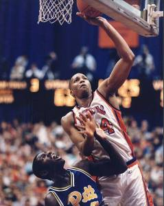 Derrick Coleman was one of six lefties taken first overall in the NBA Draft. Happy Left Handers Day to him!