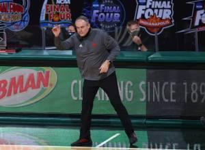 Rutgers basketball coach Steve Pikiell