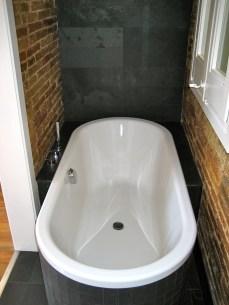 Detalle de la bañera