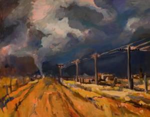 Storm Brewing by Lynn Rushton