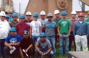 CBC Oil and Gas Program students visit field yard