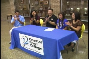 Coastal Bend College signs Ashley Valdez