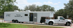 Coastal Bend College nursing mobile sim lab