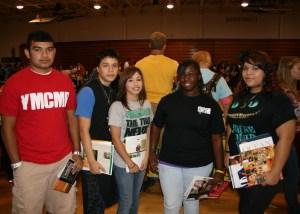 Taft High School students
