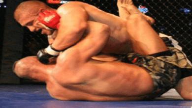 Lutte sans remord des combattants UFC