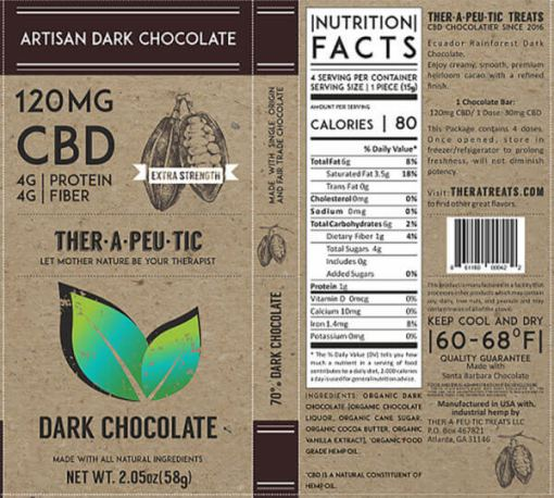 extra strength cbd chocolate