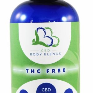CBD Body Blends Massage Oil Feminine Relief Support blend in 8 oz bottle