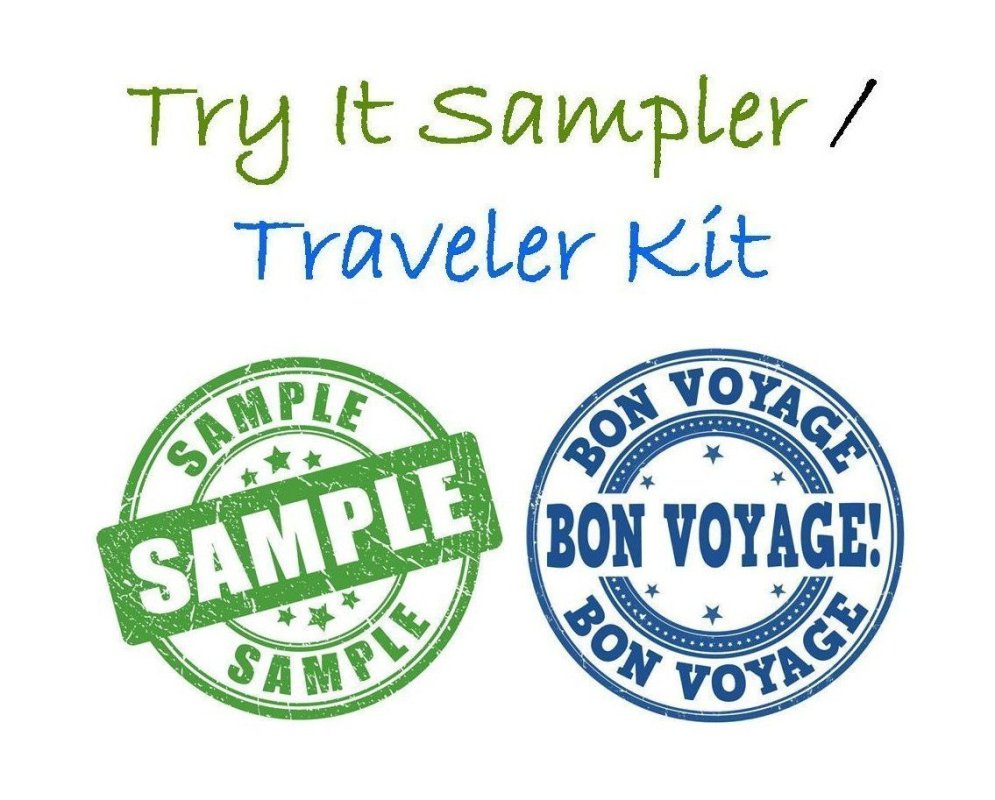 CBD Try It Sampler / Traveler Kit