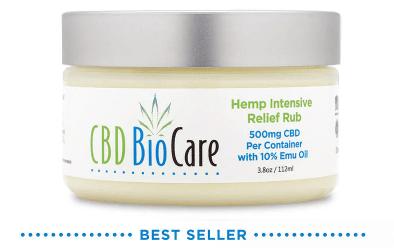 cbd biocare pain relief cream