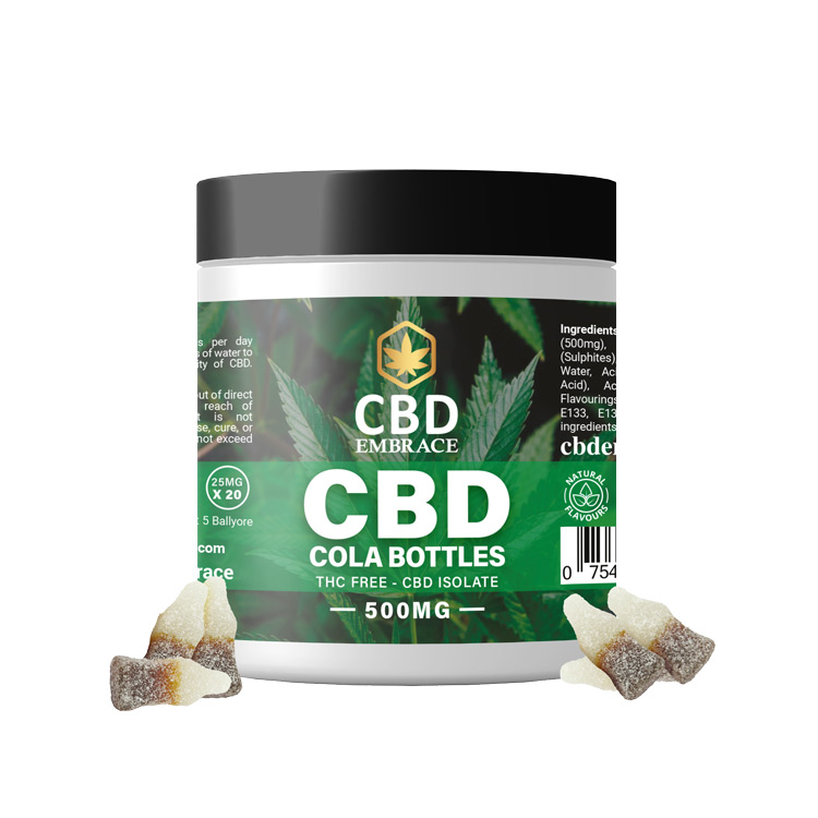 CBD Edibles - CBD Cola Gummies