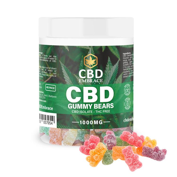 CBD Gummy Bears 1000mg UK