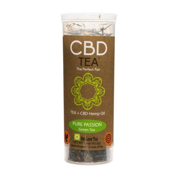 cbd tea cbd infused tea pure passion