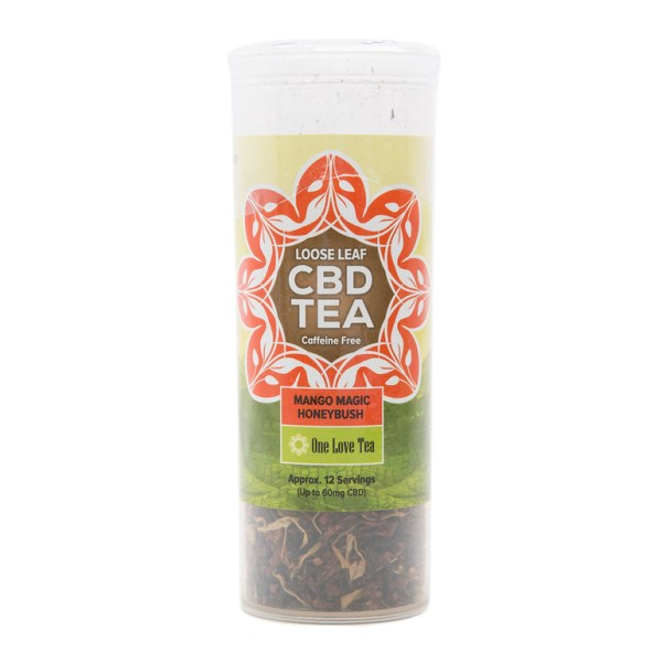 cbd tea mango magic honey bush