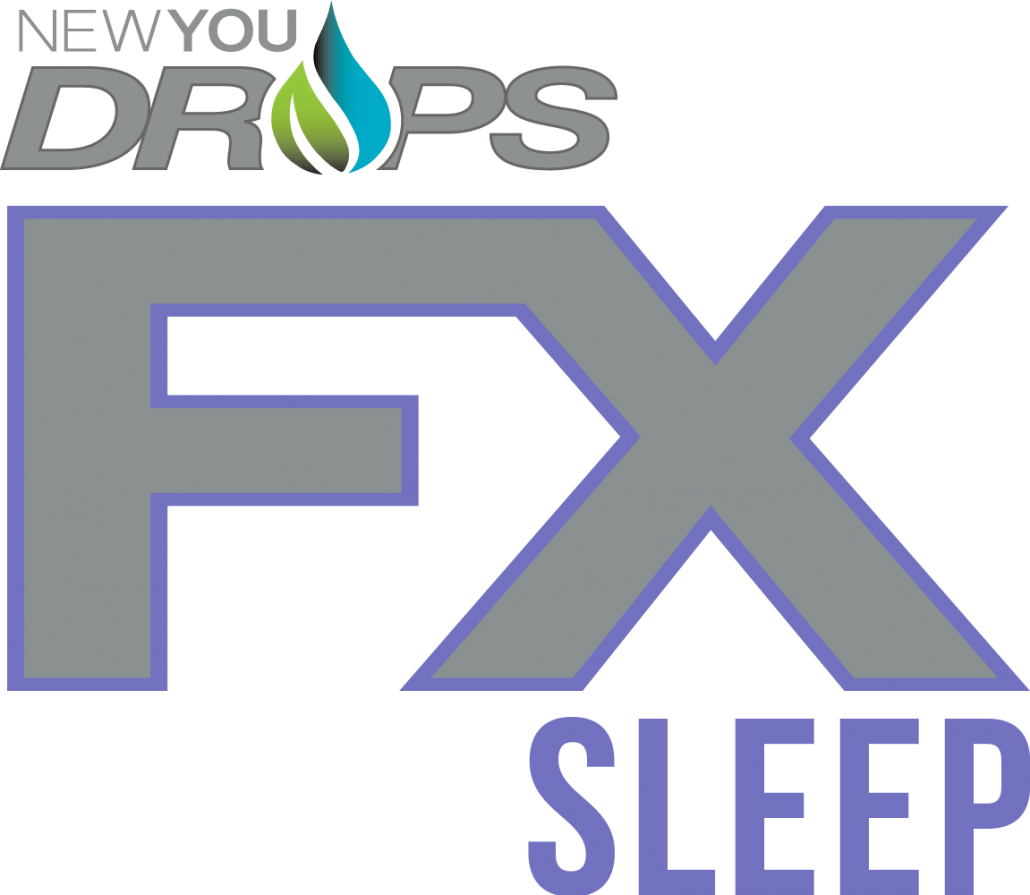 NEWYOU CBD DROPS FX sleep with melatonin