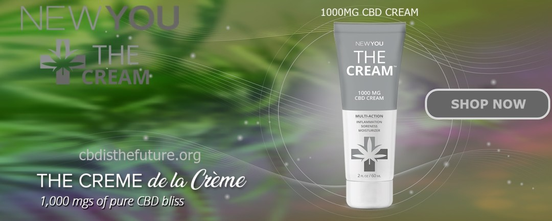 NEWYOU 1000MG CBD CREAM