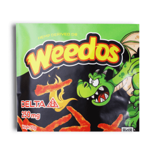 Delta 8 Chips, Weedos, 250mg