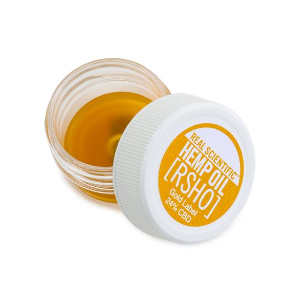 1gram rsho gold label concentrate - GOLD LABEL 240mg CBD 1G