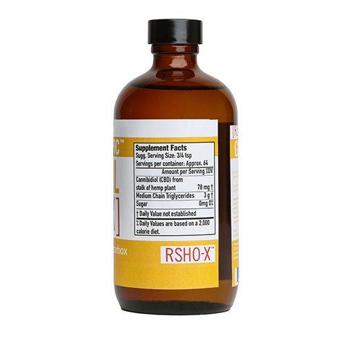 RSHO X Sups Large - THC-FREE RSHO-X LIQUID 8OZ RSHO