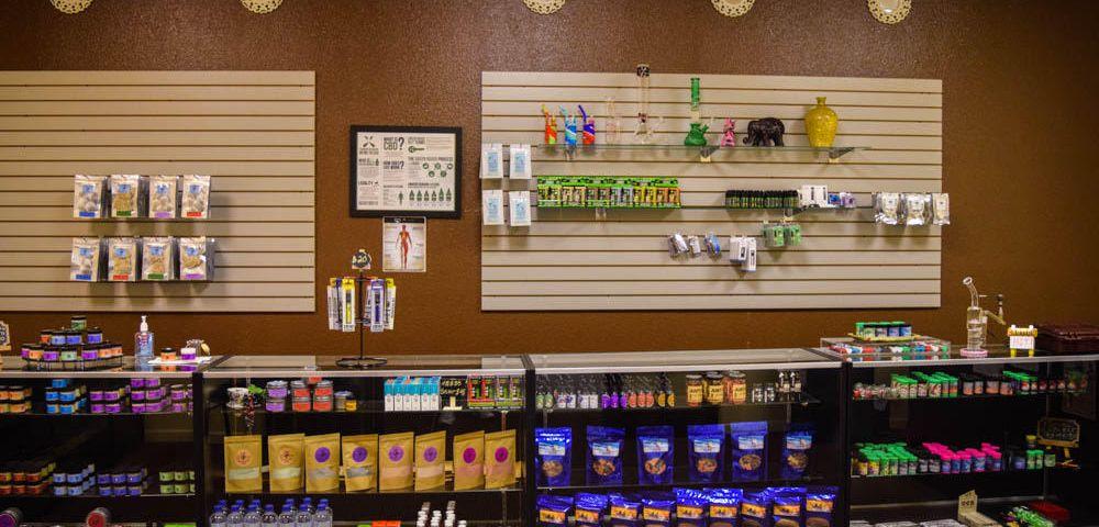 Inside Herbal Risings CBD Dispensary 420 E Southern