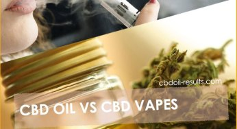 CBD oil Vs CBD vapes