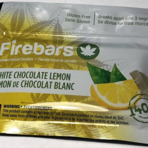 Fire Bars- White Chocolate Lemon (140 MG THC)