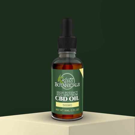 Vanilla CBD Oil 500mg Featured
