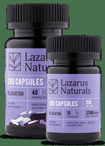 lazarus cbd capsules