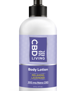 Lavender CBD Lotion