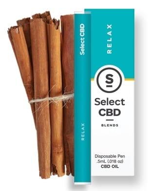 Relax - Cinnamon CBD Pen