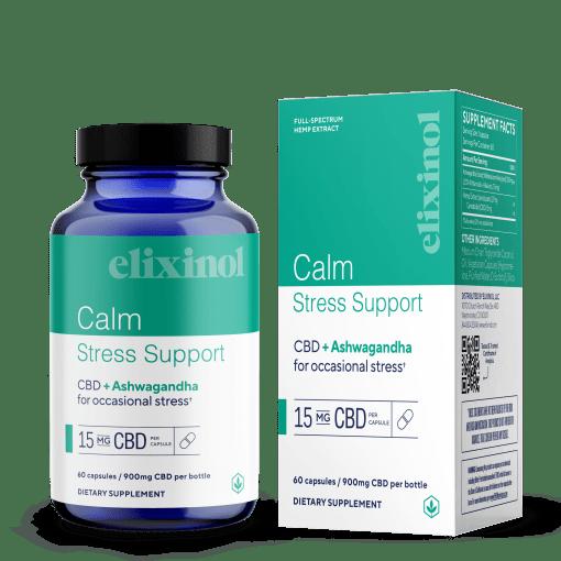 Calm Stress Support CBD Capsules