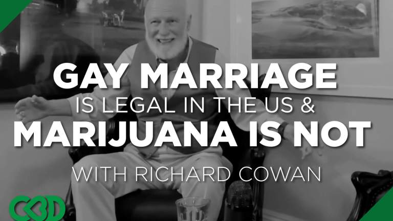 Gay Marriage is Legal in the US & Marijuana is Not