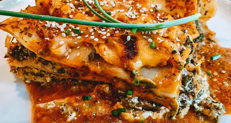 Dr. igor's vegan hemp heart lasagna recipe