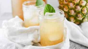 Pineapple Basil Cold Steeped Tea