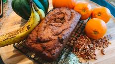Dr. Igor's Vegan Pumpkin Banana Hemp Bread Recipe
