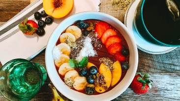 Dr. Igor's Fruit & Nut Protein Açai Bowl Recipe