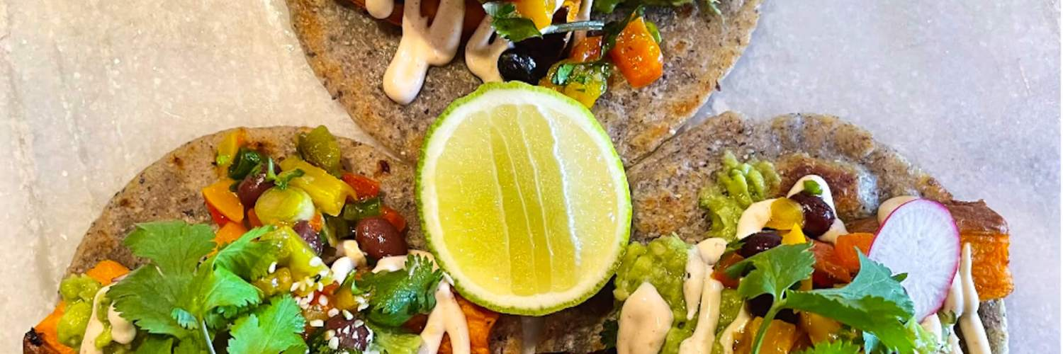 Dr. Igor's Vegan Sweet Potato & Hemp Heart Tacos Recipe