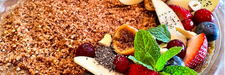 Dr. Igor's No-Bake Hemp Heart Cranberry Apple Pie Recipe