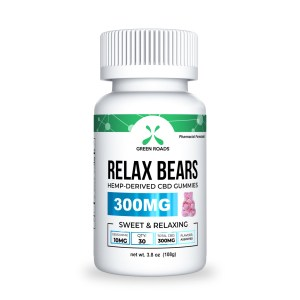 CBD Infused Gummy Relax Bears 300mg