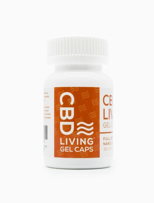 CBD Living 25 MG – 30 Count Gel Capsules