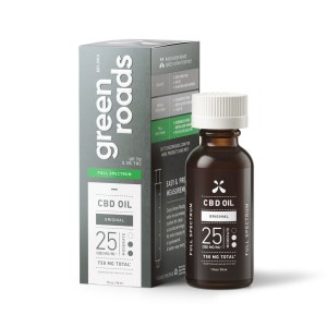 Green Roads 750mg 25mg/ml 30ml CBD Oil Full Spectrum