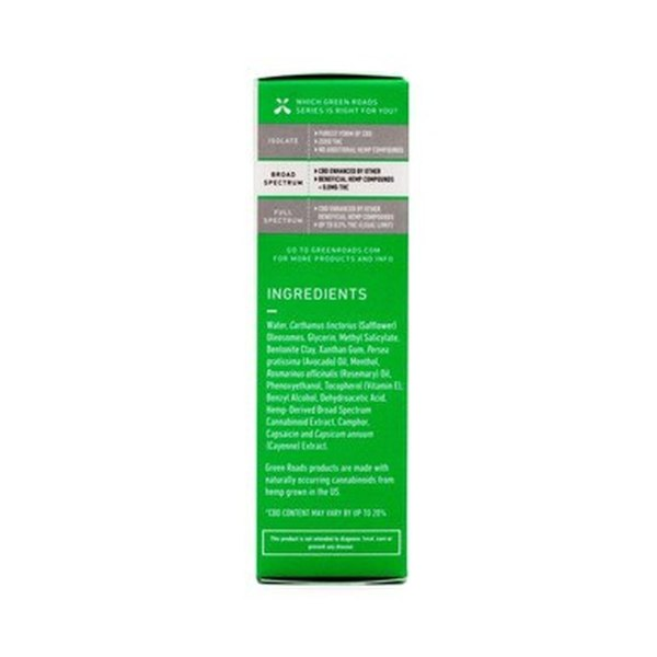 Green Roads Muscle Joint Heat Relief 150 mg Roll On