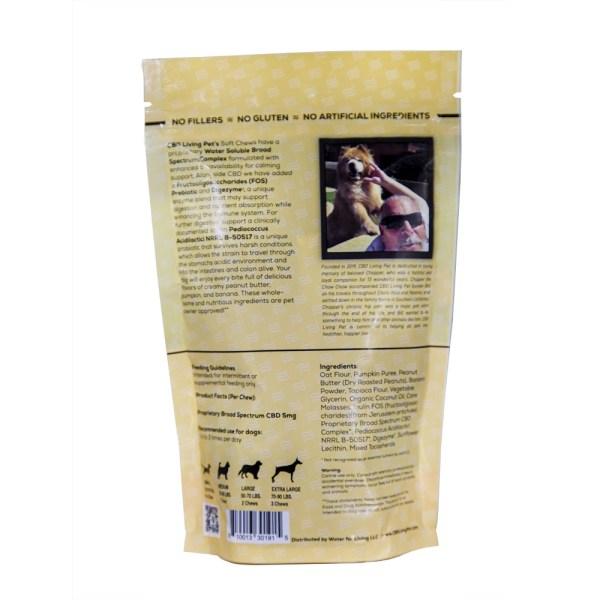 CBD Living Pet Dog Chew – Soft