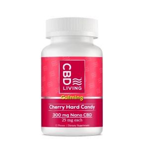 CBD Living Hard Candy Cherry