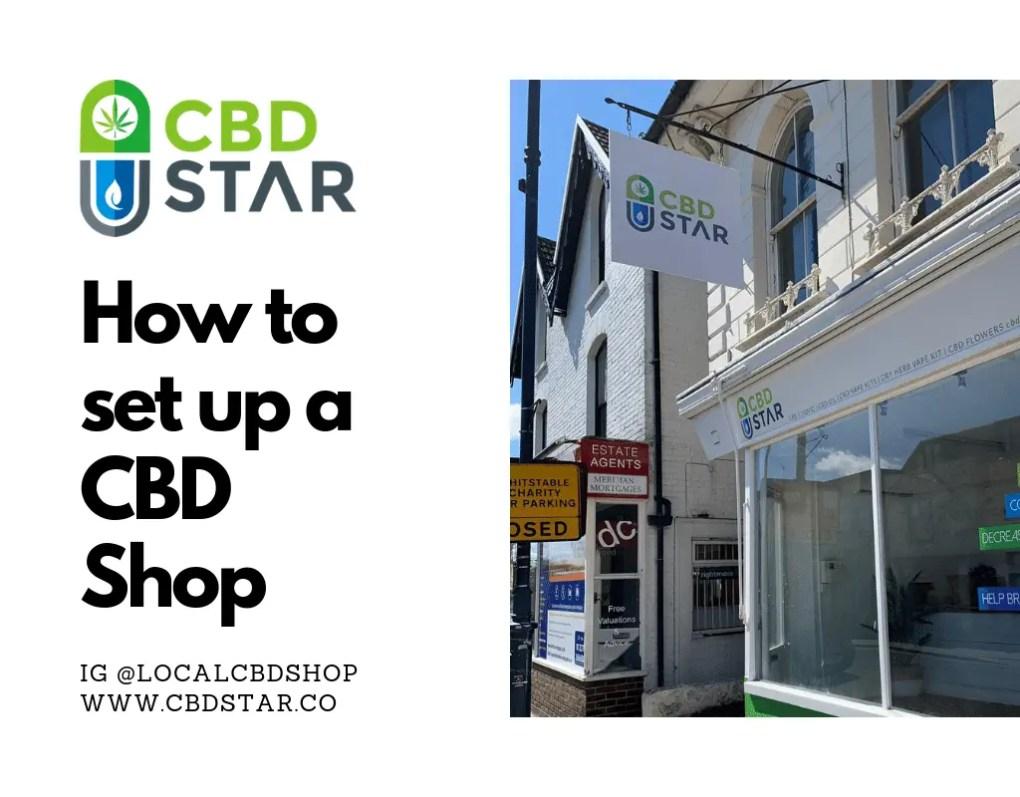 how to set up a cbd franchise shop