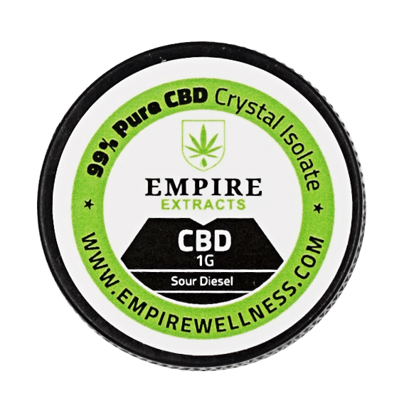 99% Pure CBD Crystal Isolate (Empire Wellness)