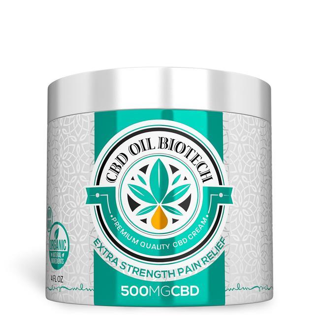 Biotech CBD Cream 500MG (diamond)