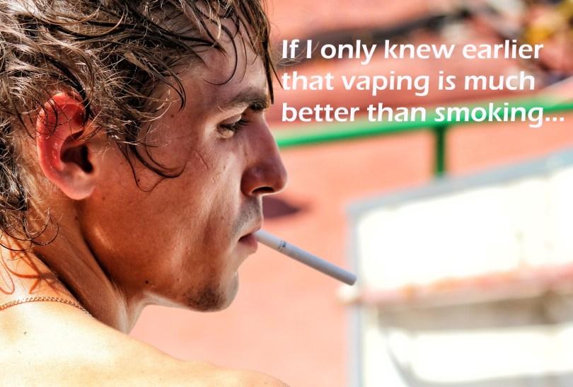 Quit smoking start vaping