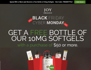 Cyber Monday CBD Deals: Free CBD Softgels